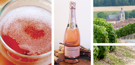 Photo bouteille cuvee tendre rose